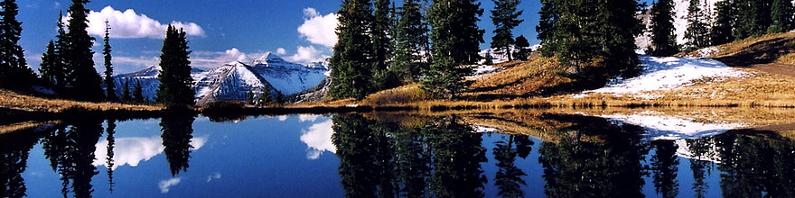 /images/500/2004-10-crested-yule1-sp.jpg - #02319: images of Paradise Divide lake (elev 11,250 ft) … October 2004 -- Paradise Divide Lake, Crested Butte, Colorado
