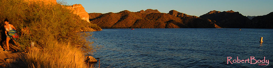 /images/500/2007-10-07-sag-eve-5980s.jpg - #04712: Evening at Saguaro Lake … Oct 2007 -- Saguaro Lake, Arizona