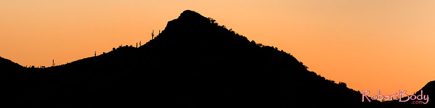 /images/500/2008-09-04-supers-silh-23688sp.jpg - #05818: Sunset in Superstitions … September 2008 -- Apache Trail Road, Superstitions, Arizona