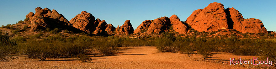 /images/500/2008-12-05-papago-view-59881sp.jpg - #06344: Buttes of Papago Park … December 2008 -- Papago Park, Phoenix, Arizona