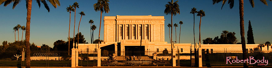 /images/500/2008-12-28-mesa-temple-west-68462sp.jpg - #06651: West side of Mesa Arizona Temple … December 2008 -- Mesa Arizona Temple, Mesa, Arizona