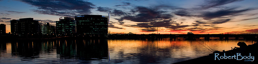 /images/500/2009-01-08-tempe-lake-sunset-74185sp.jpg - #06850: Tempe Town Lake … January 2009 -- Tempe Town Lake, Tempe, Arizona
