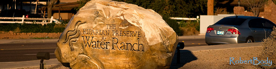 /images/500/2009-01-17-gilbert-rip-sign-76813sp.jpg - #06936: Riparian Preserve sign … January 2009 -- Riparian Preserve, Gilbert, Arizona