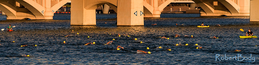 /images/500/2009-09-27-nathan-tri-swim-113887sp.jpg - #07496: 00:40:10 - Swimmers at Nathan Triathlon … September 2009 -- Tempe Town Lake, Tempe, Arizona