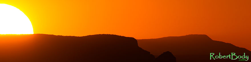 /images/500/2010-08-15-grand-sunset-sil-24229sp.jpg - #08458: Mountain silhouettes at sunset in Grand Canyon … August 2010 -- Desert View, Grand Canyon, Arizona