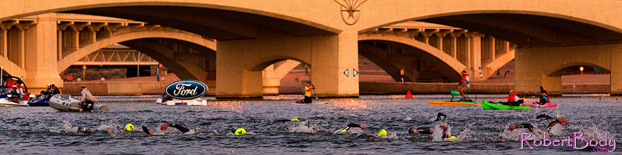 /images/500/2011-11-20-ironman-swim-pros-121295sp.jpg - #09845: 00:01:02 - Pros early in the swim - Ironman Arizona 2011 … November 2011 -- Tempe Town Lake, Tempe, Arizona