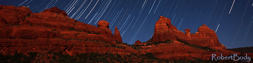 /images/500/2012-05-06-schnebly-strails-1ds3_0334s.jpg - #10176: 50 minutes of star trails at Schnebly Hill in Sedona, Arizona … May 2012 -- Schnebly Hill, Sedona, Arizona