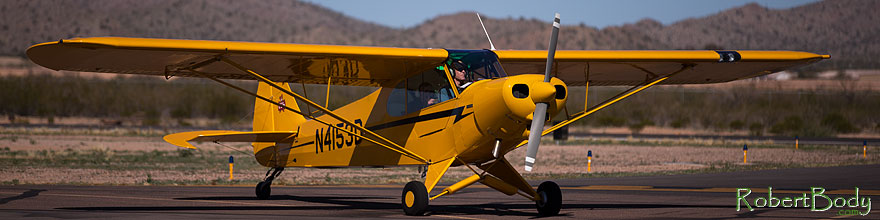 /images/500/2013-03-02-cg-fly-yellow-27729sp.jpg - #10878: Planes at 55th Annual Cactus Fly-In 2013 in Casa Grande, Arizona … March 2013 -- Casa Grande, Arizona