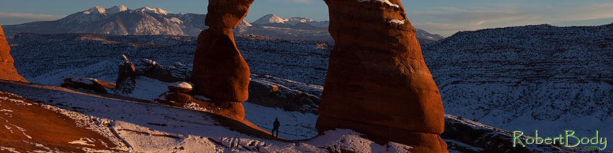 /images/500/2013-12-25-arches-delicate-1dx_9220sp.jpg - #11448: Delicate Arch in Arches National Park … December 2013 -- Delicate Arch, Arches Park, Utah