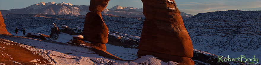 /images/500/2013-12-25-arches-delicate-1dx_9240sp.jpg - #11450: Delicate Arch in Arches National Park … December 2013 -- Delicate Arch, Arches Park, Utah
