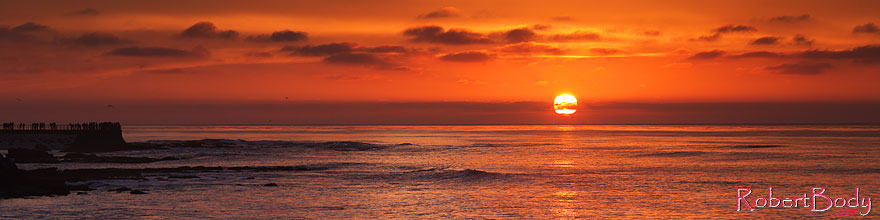 /images/500/2014-01-04-lajolla-sunset-1x_22133sp.jpg - #11540: Sunset at La Jolla, California … January 2014 -- La Jolla, California