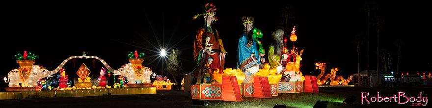 /images/500/2014-02-02-fhills-chin-3god-5d2_1161sp.jpg - #11721: Elephants and 3 gods at Chinese New Year Lantern Culture and Arts Festival 2014 … February 2014 -- Fountain Hills, Arizona