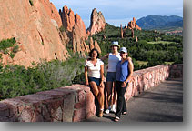Ola, Ewelina and Aneta ... in Garden of Gods, Colorado Springs